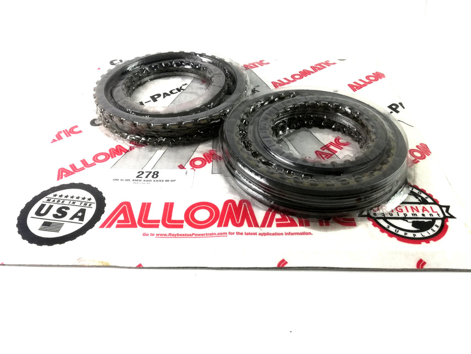 PACK DISCOS DE PASTA ALLOMATIC GM BMW 5L40E 2002/UP - Transmisiones Veinte 07
