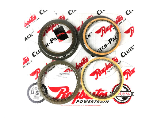 PACK DISCOS DE PASTA RAYBESTOS JATCO NISSAN 4X4 1987-UP RE4R01A RL4R01A - Transmisiones Veinte 07