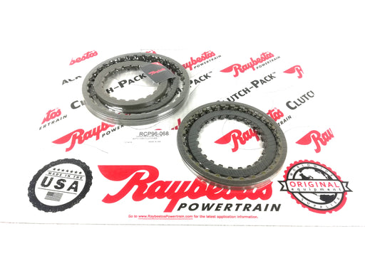 PACK DISCOS DE PASTA RAYBESTOS NISSAN RE4F04A RE4F04B RE4F04V 4F20E - Transmisiones Veinte 07