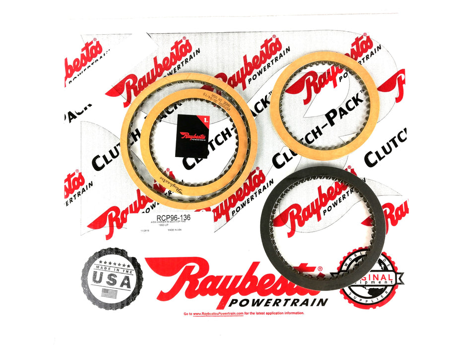 PACK DISCOS DE PASTA RAYBESTOS 1992-97 AW60-40LE AW60-40SN - Transmisiones Veinte 07