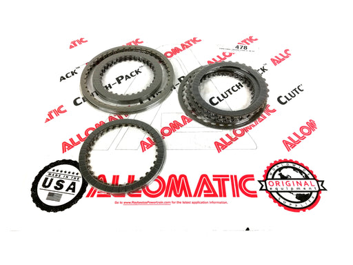 PACK DISCOS DE PASTA ALLOMATIC FORD FNR5 MAZDA FS5A-EL 2005/UP - Transmisiones Veinte 07