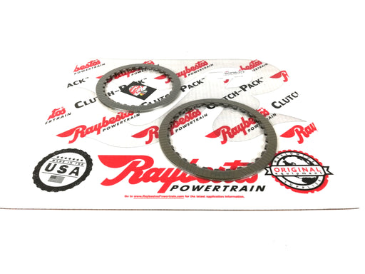 Pack Discos de Pasta Raybestos Ford ZF 2005/UP CFT30 CVT - Transmisiones Veinte 07