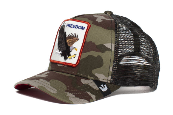 FREEDOM EAGLE CAMO CAP - ANIMAL FARM