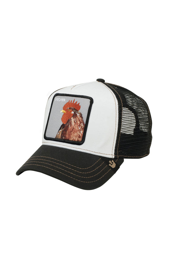 PLUCKER / PECKER ROOSTER HEAD CAP - Animal Farm