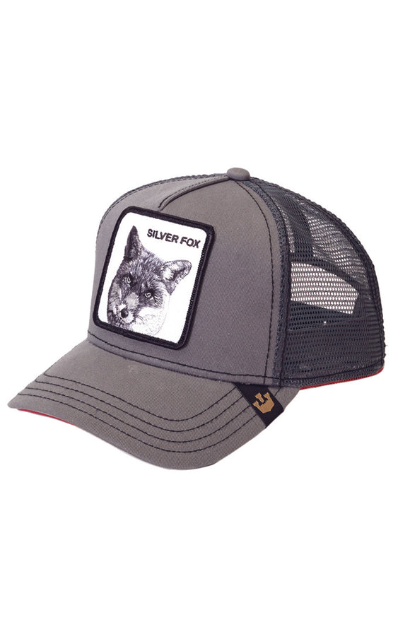 SILVER FOX CAP - Animal Farm
