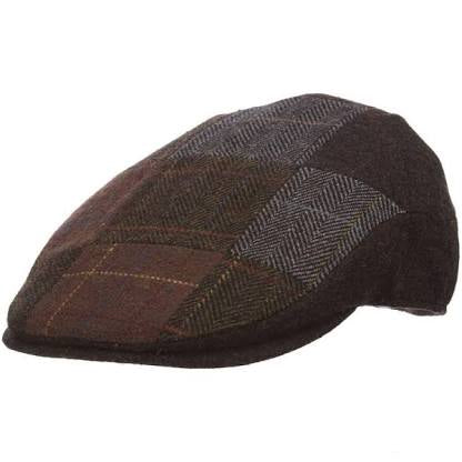 Stetson Blend Patch Flat Cap-  Newsboy