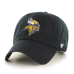 47 Brand Minnesota Vikings Black 47 Clean Up