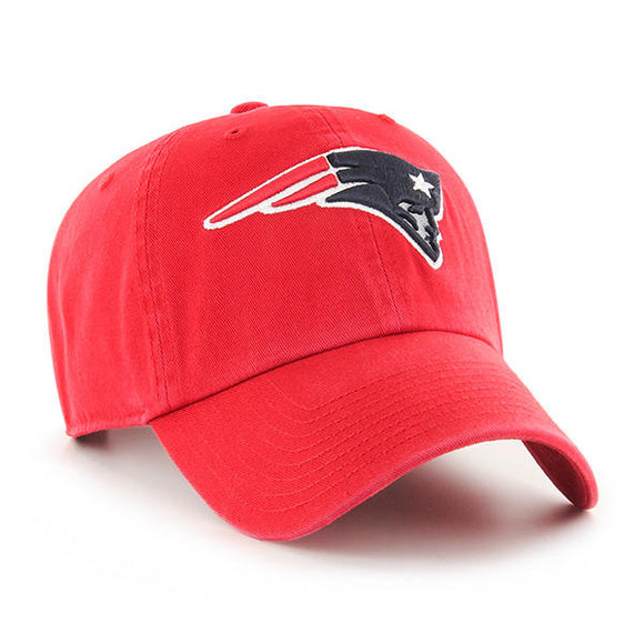 47 Brand New England Patriots Red 47 Clean Up