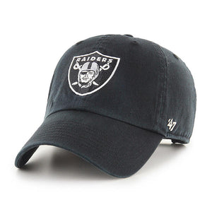 Las Vegas Raiders Black 47 Clean Up