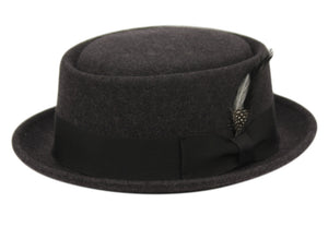 WOOL FELT PORK PIE HATS