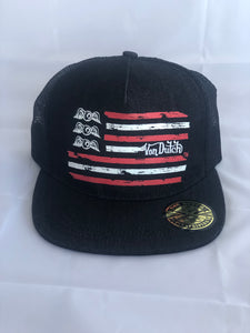Von Dutch Hat American Flag