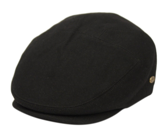 Brushed Wool Solid Ivy Cap