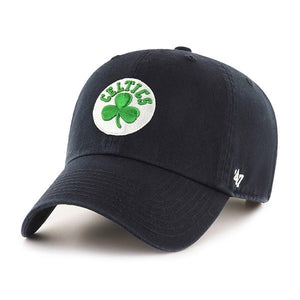 47 Brand Boston Celtics Black 47 Clean Up