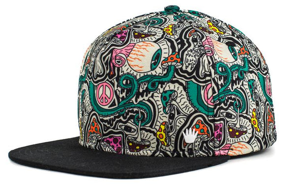 Lifted Snapback Cap