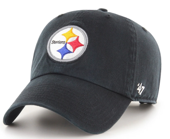 47 Brand Pittsburgh Steelers Clean Up