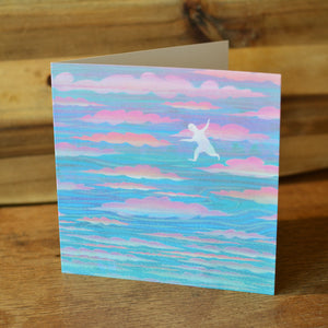 Cloud Hopping card