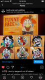 FUNNY FACE Vintage Clown Game RARE