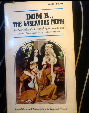 RARE AF!! VINTAGE DOM B. THE LASCIVIOUS MONK