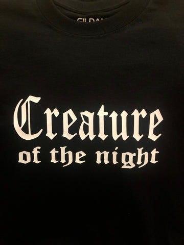 CREATURE OF THE NIGHT ADULT T