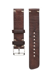 Dark Reindeer Leather Strap