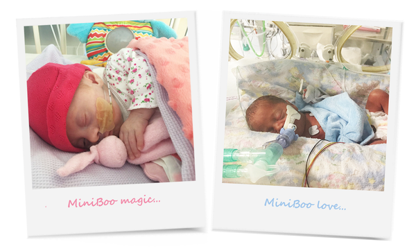 tiny babies cuddling their miniboo in neonatal care