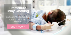 shop now for premature baby clothes and accessories