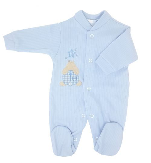 Sky Rabbit & Star Premature Baby Sleepsuit