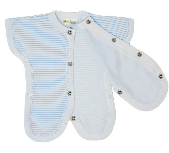 Sky Striped Neonatal Easy Access Vest