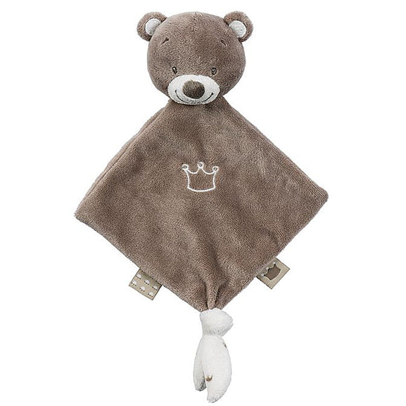 Nattou Mini Doudou Tom The Bear - Mini Sized New Baby Comforter