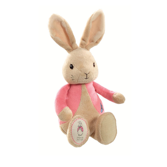 my first flopsy bunny soft toy suitable from birth from the original beatrix potter books