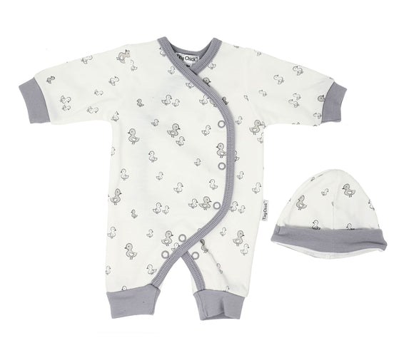 Little Chick Premature Baby Sleepsuit & Hat