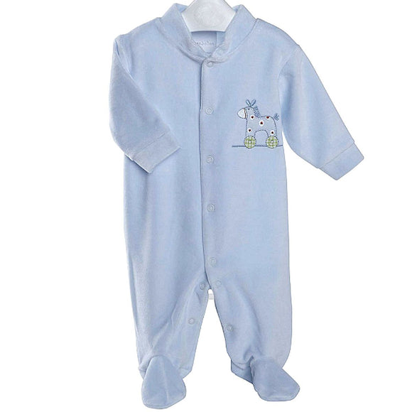 Sky Rocking Horse Premature Baby Sleepsuit
