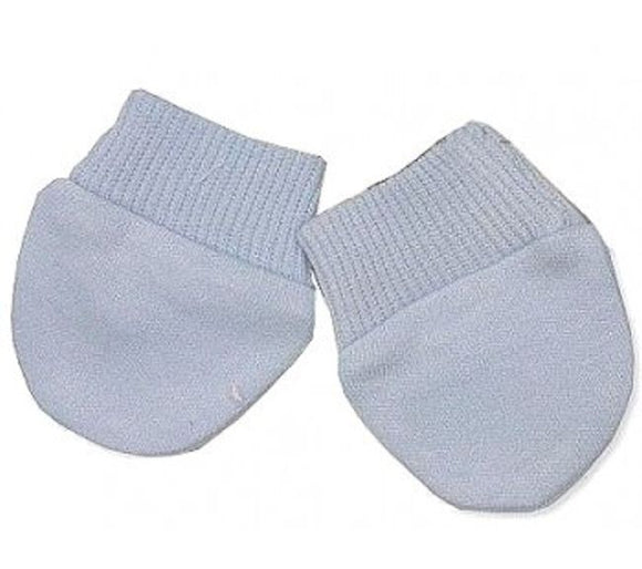 Sky Premature Baby Anti Scratch Mitts Twin Pack