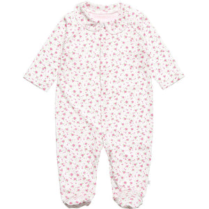 Rosie Posie Cotton Sleepsuit
