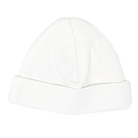 Premature Baby Hat - White