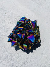 Load image into Gallery viewer, Titanium Aura Quartz Cluster