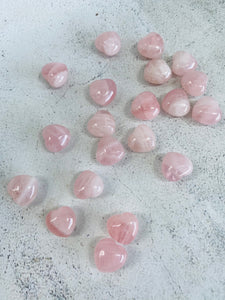 Rose Quartz Heart || Mini
