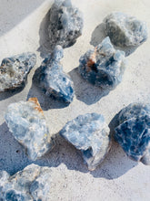 Load image into Gallery viewer, Blue Calcite Rough || Intuitively Chosen