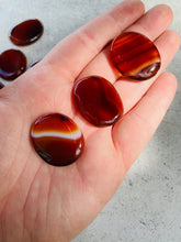Load image into Gallery viewer, Carnelian Coin || Flatstone