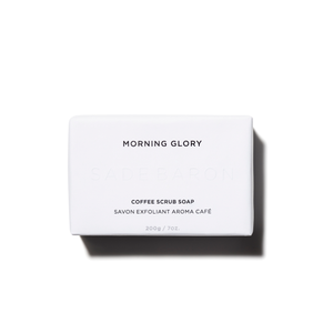 Morning Glory - Coffee Scrub Bar Cleanser