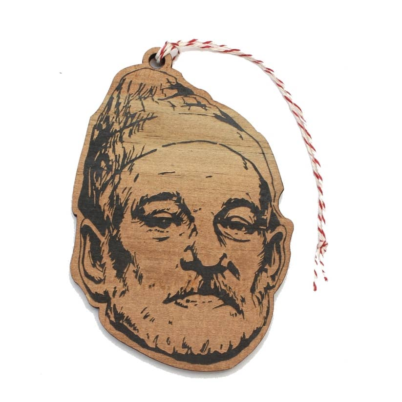 Bill Murray Zissou Ornament