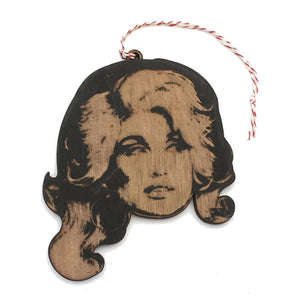 Dolly Parton Ornament