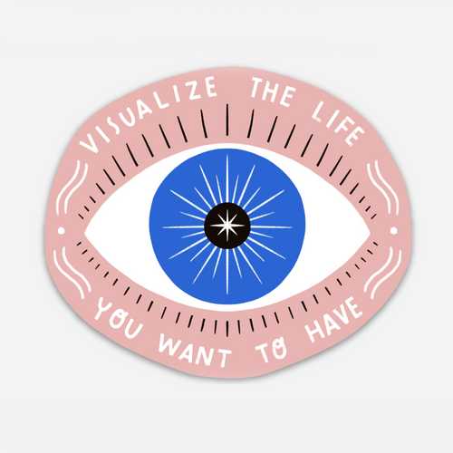 Visualize Life Sticker