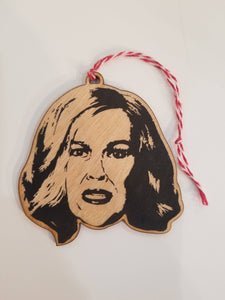 Catherine O'Hara Ornament
