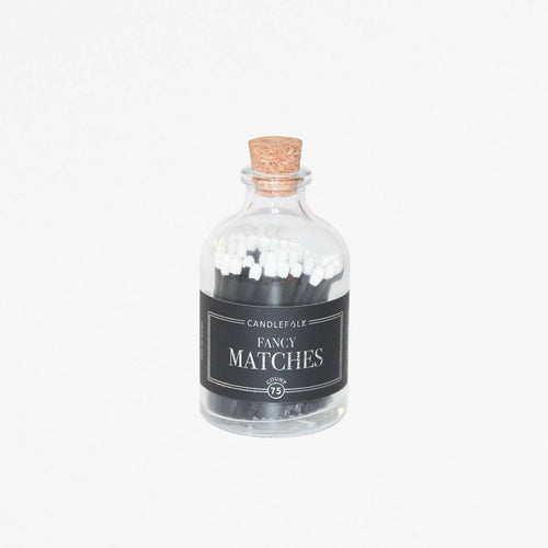 Black & White Apothecary Matches