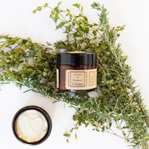 Creosote + Rosemary Cream - 2oz