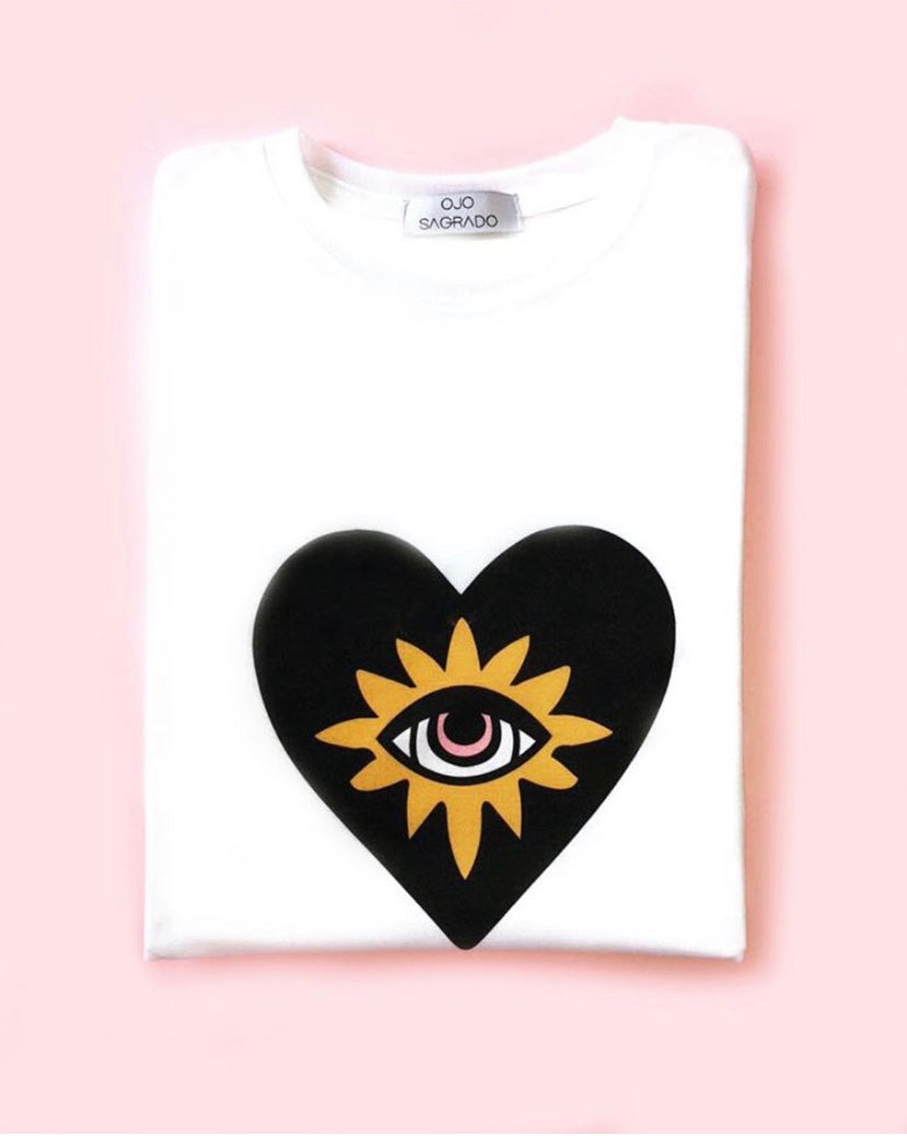 Ojo Sagrado T-Shirt in Black