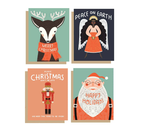 Mixed Box Set of Holiday Cards