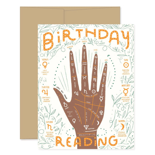 Palm Birthday Card