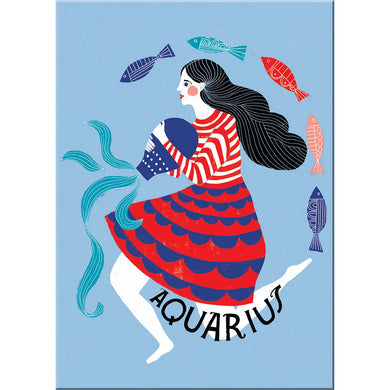 Lisa Congdon Aquarius Magnet